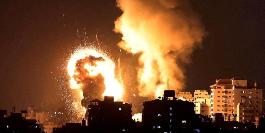 इजरायलमा हिंसात्मक झडप, गाजामा इजरायली बमबारी जारी