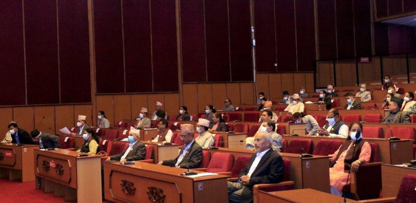 प्रतिपक्षी दल नेकपा एमालेको नाराबाजीका बीच दुई विधेयक बहुमतले पारित