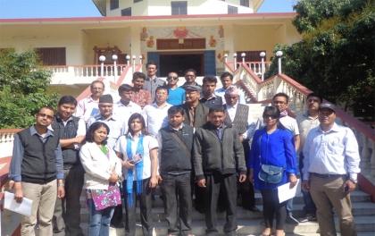 सिक्किमका साहित्यकारहरुलाई लुुम्बिनीमा स्वागत