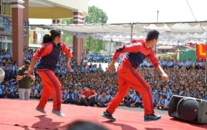 प्रहरीको रमाइलो सांस्कृतिक प्रदर्शनी