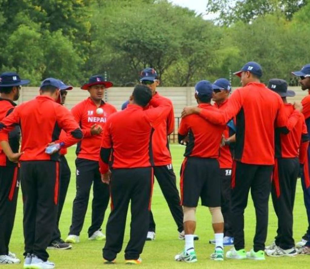 अाइसीसी विश्व क्रिकेट लिग : नेपाल एक विकेटले विजयी, विश्वकप छनाैट खेल्ने