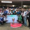गैंडाकोट बन्यो चाैथो चितवन च्याम्पियनसिप फुटबलको विजेता