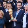 फ्रान्स र क्रोएसियाका फुटबल खेलाडीलाई सर्वोच्च सम्मान र स्वागत
