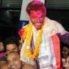 'नेपाल आइडल २' का रवि वडलार्इ धनगढीमा स्वागत गर्नेकाे भिड