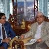 साउदीमा नेपाली कामदारको सुरक्षामा ध्यान दिन नवनियुक्त राजदूतसँग सभामुखकाे आग्रह