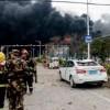 चीनको रसायन उद्योगमा विस्फोट हुँदा ४४ को मृत्यु, ६ सय ४० घाइते