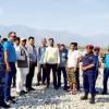 कञ्चनपुर स्थित  ब्रह्मदेव क्षेत्रकाे सडकमा भारतीय अवरोध