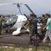 पोखरा विमानस्थलमा 'जाइरोकोप्टर' दुर्घटना