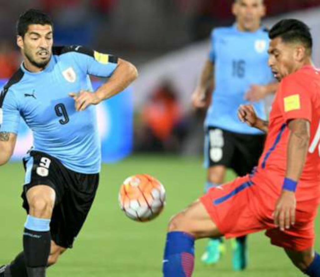 कोपा अमेरिका फुटबल : चिलीलाई  पराजित गर्दै उरुग्वे क्वाटरफाइनलमा