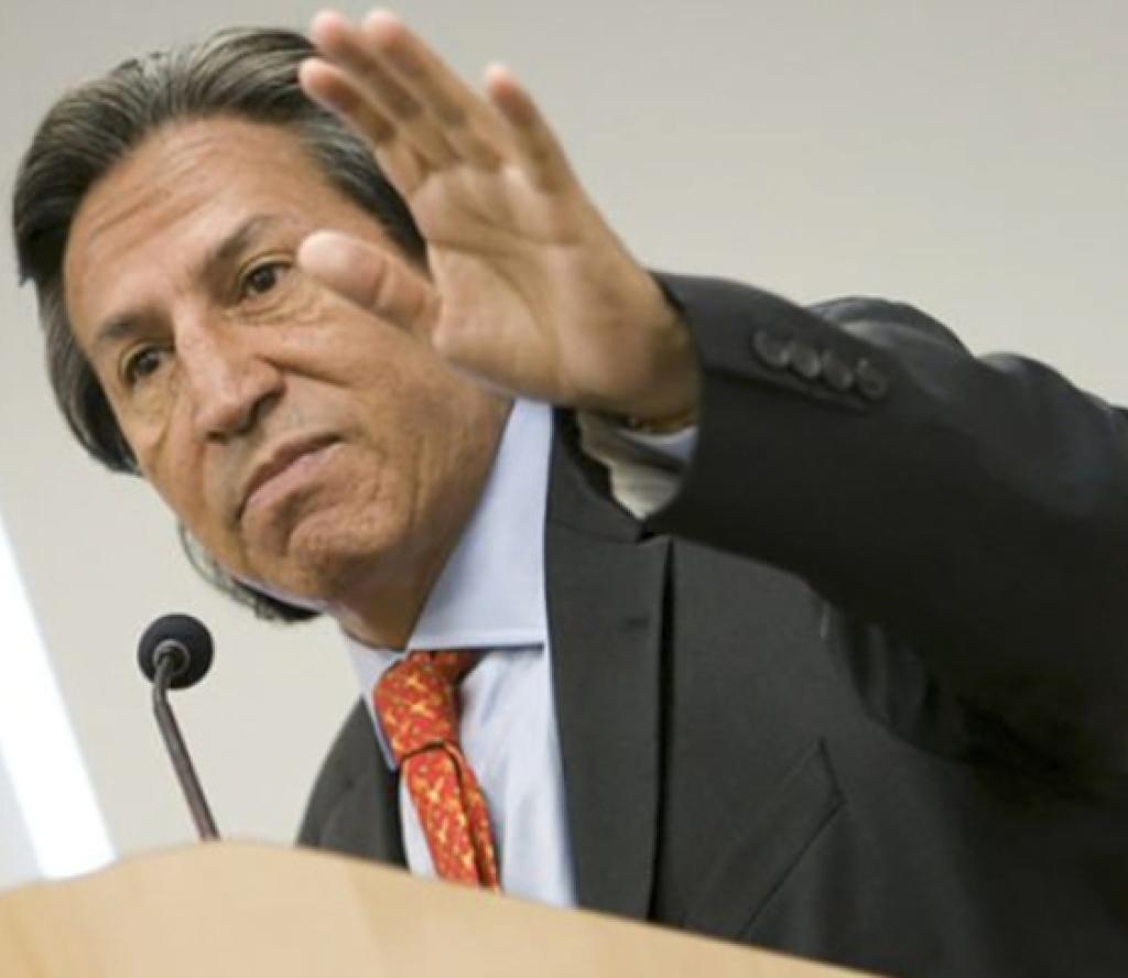 पेरुका पूर्व राष्ट्रपति टाेलेडाे अमेरिकामा पक्राउ