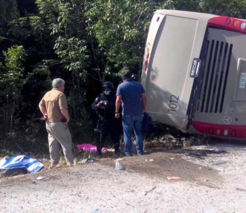 यात्रुबाहक बस दुर्घटना हुँदा कम्तीमा १५ जनाको मृत्यु, २१ जना घाइते