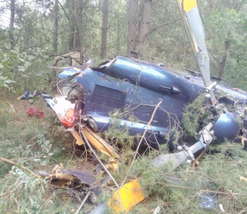 एमआई–२ हेलिकप्टर दुर्घटनाग्रस्त , पाइलटको मृत्यु