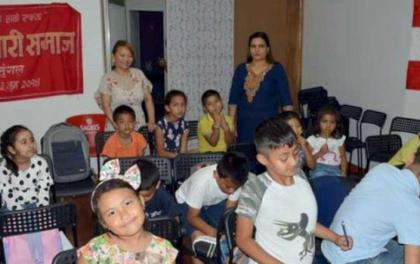 पोर्चुगलमा नेपाली पाठशालाः कखरा सिक्दै नेपाली बालबालिका