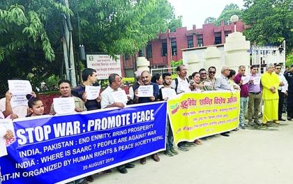 भारत–पाकिस्तानलाई नेपालीको दबाब