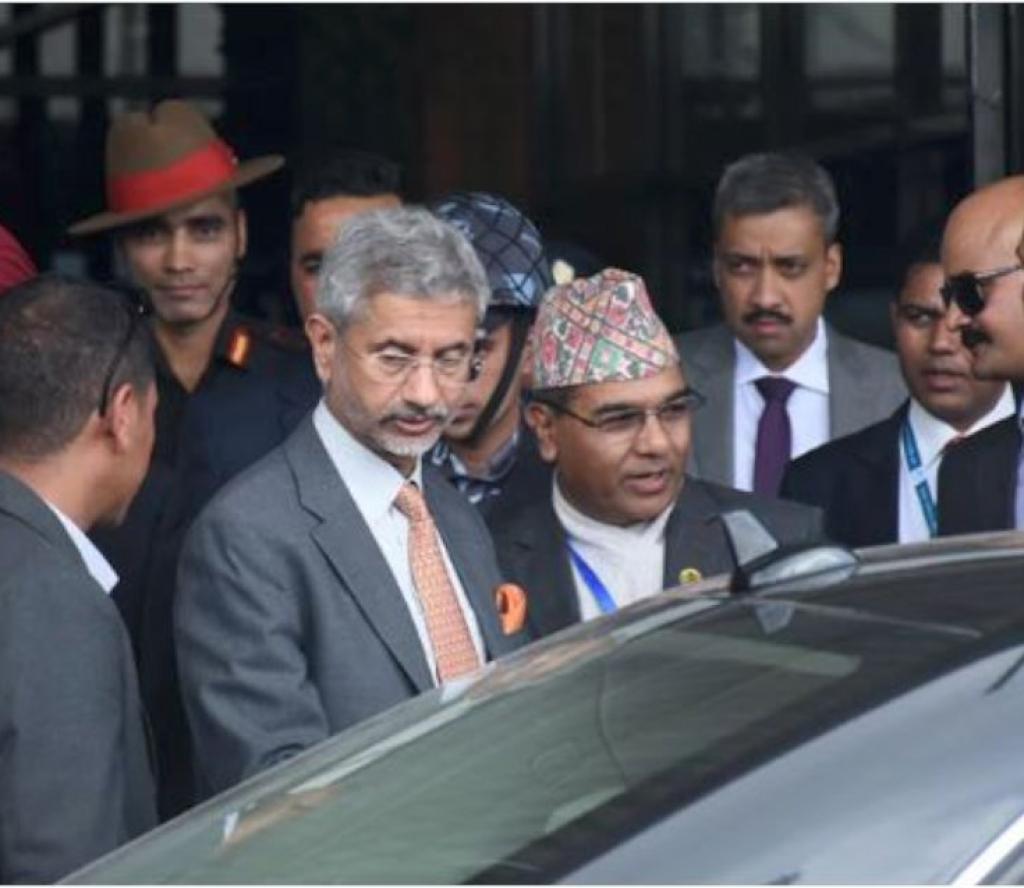 काठमाडौं आइपुगे भारतीय विदेशमन्त्री जयशंकर, यस्तो छ भेटघाटको कार्यसुची