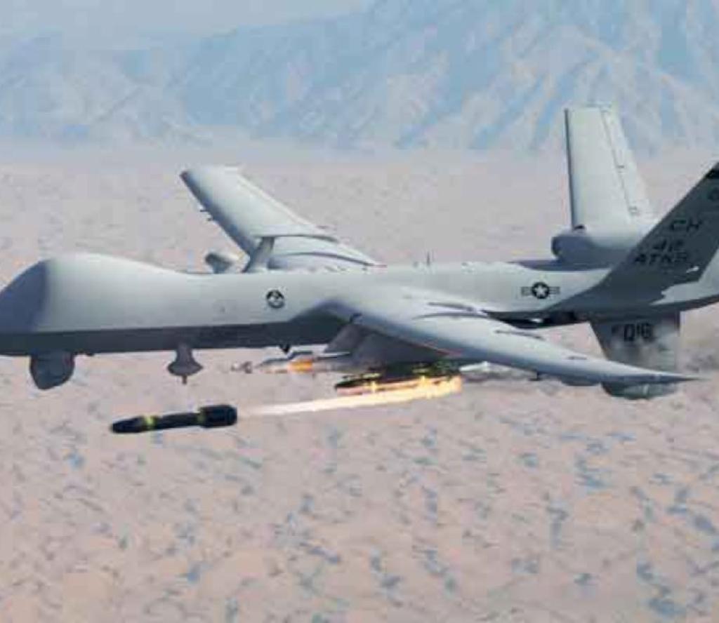 ड्रोन आक्रमणमा परि १८ सर्वसाधारणको मृत्यु