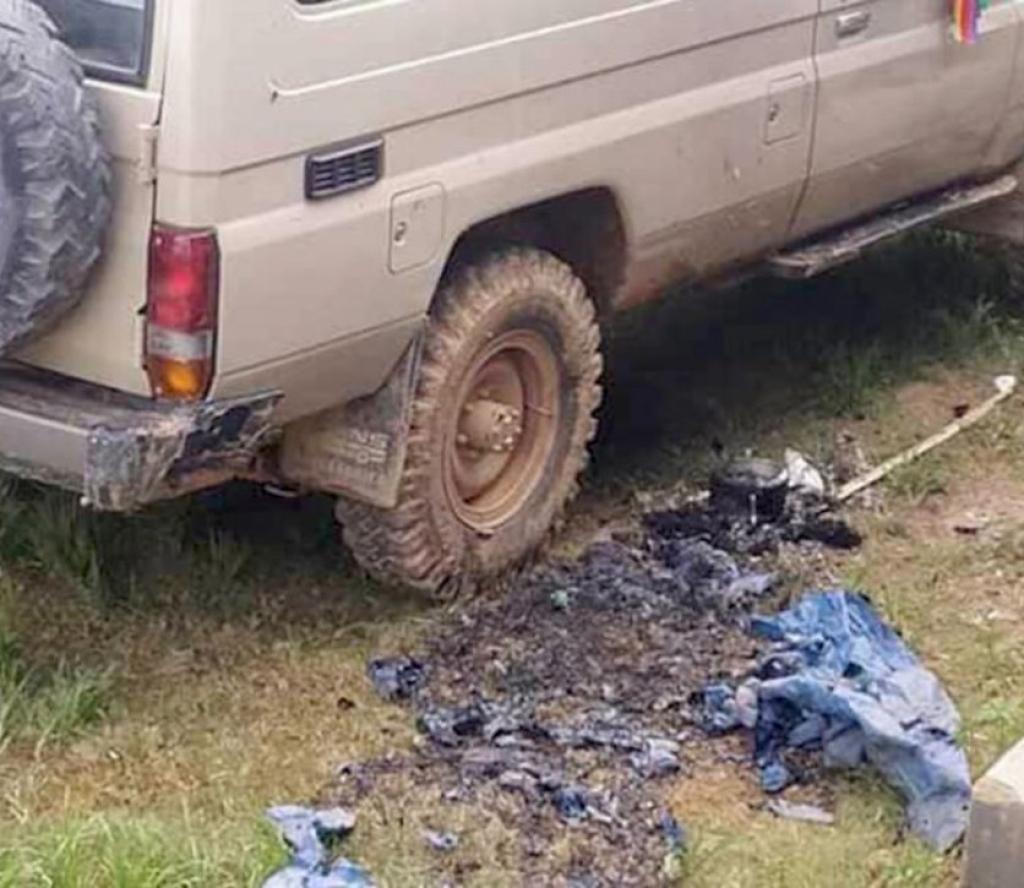 उपमेयर राई चढ्ने गाडीलाई लक्षित गरेर बम विस्फोट