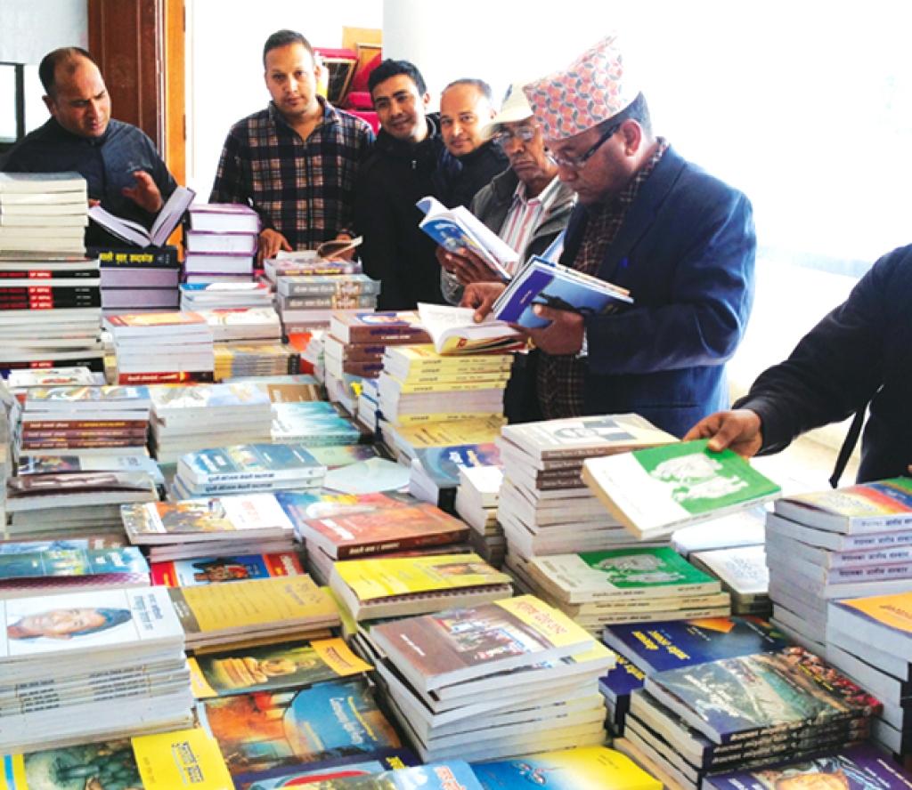 प्रज्ञा प्रतिष्ठानमा पुस्तक प्रदर्शनी, ६० प्रतिशतसम्म छुट