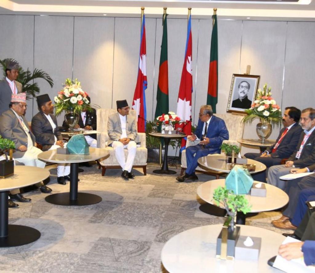 बङ्गलादेशका राष्ट्रपति नेपालसँग आर्थिक साझेदारी बढाउने पक्षमा