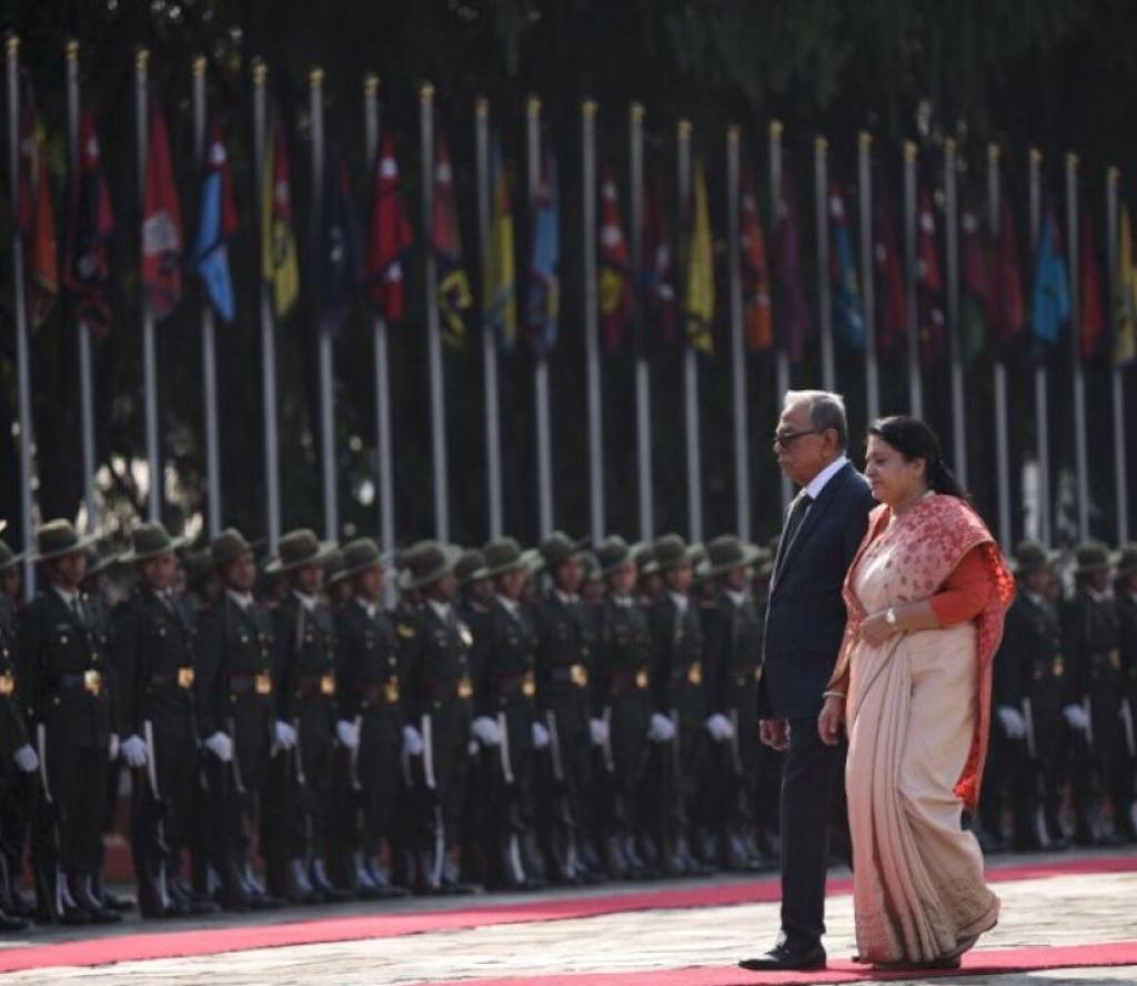बङ्गलादेशका राष्ट्रपति हमिद काठमाडौँ आउँदा जे देखियो (फाेटाेफिचर)