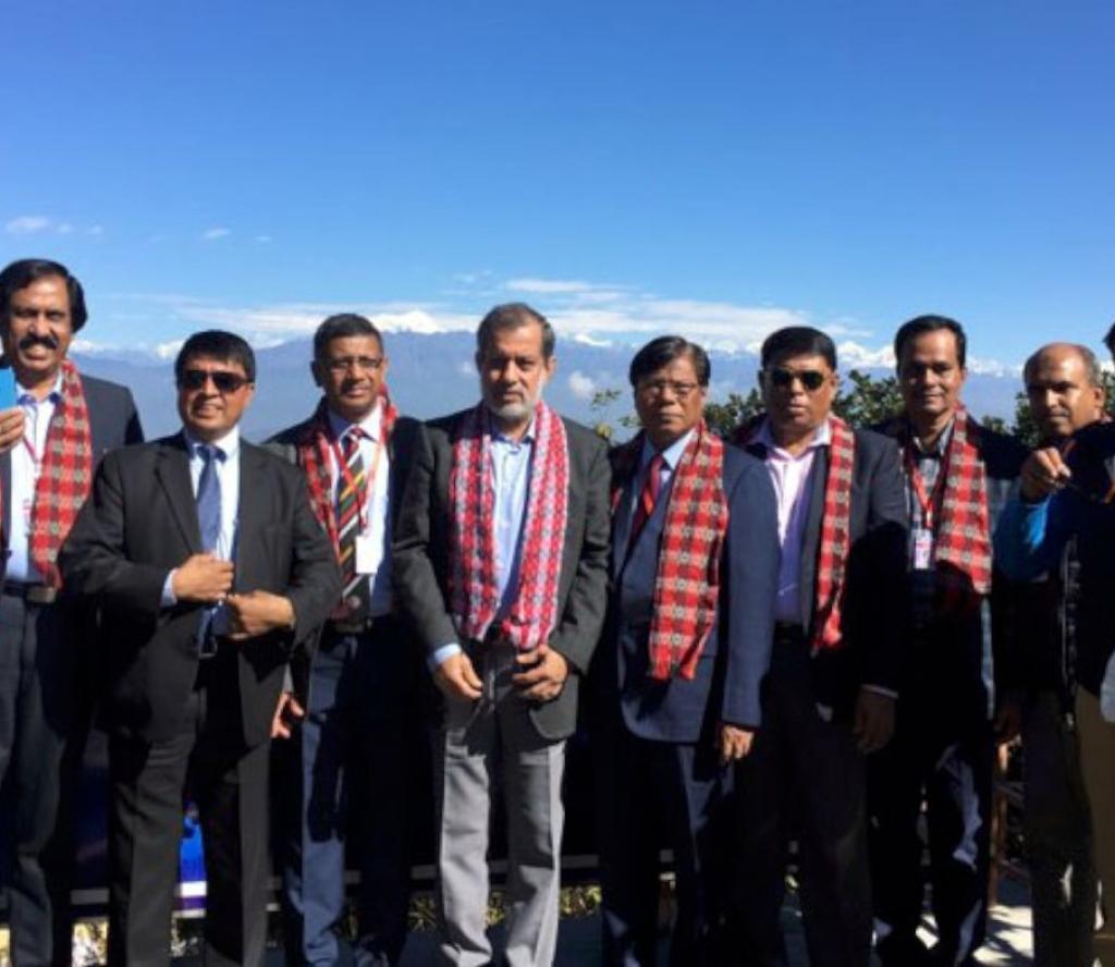 बङ्लादेशका राष्ट्रपतिको भ्रमण दलका सदस्य चन्द्रागिरिमा