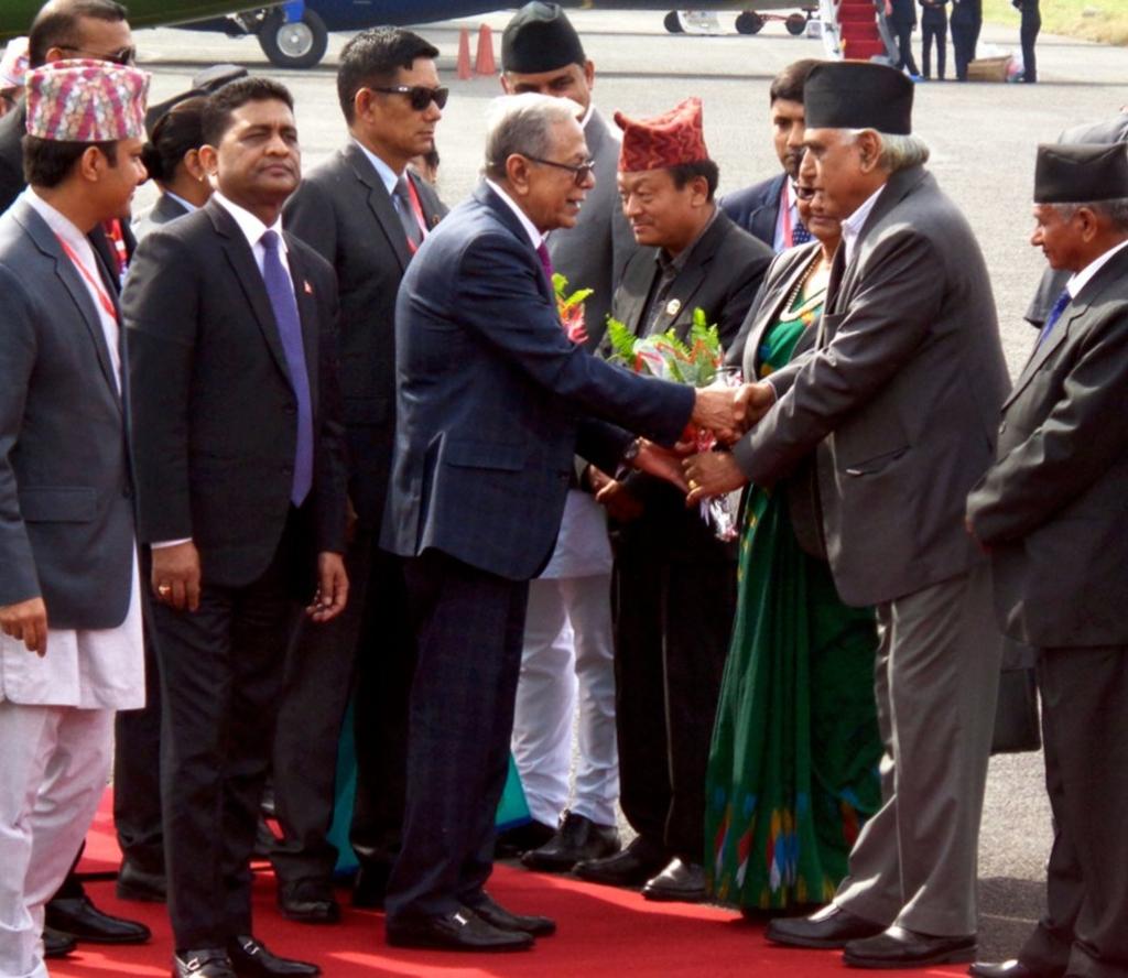 यस्तो रह्यो बङ्गलादेशका राष्ट्रपति हमिदको पोखरा भ्रमण