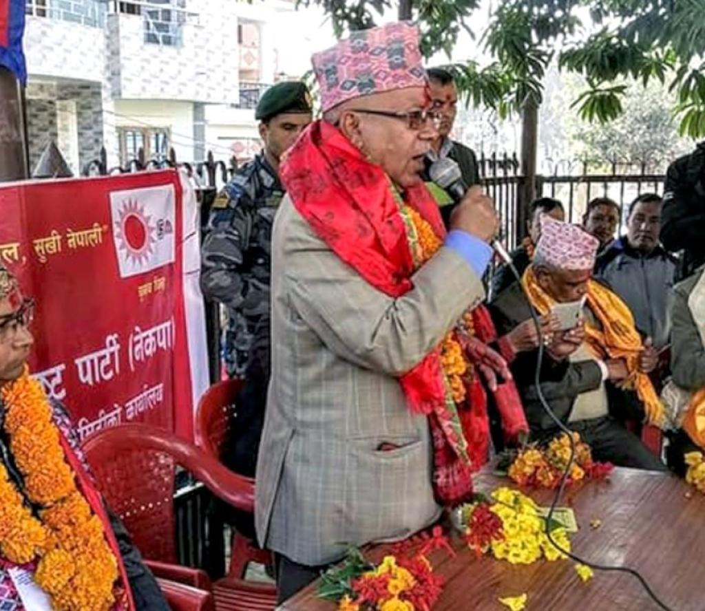 अबको बाटो आर्थिक विकास र समृद्धि मात्रै : माधव नेपाल