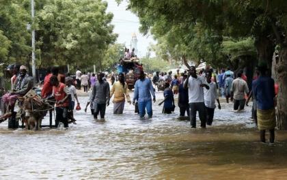 सोमालियामा बाढीबाट ५ लाख ७५ हजार व्यक्ति विस्थापित