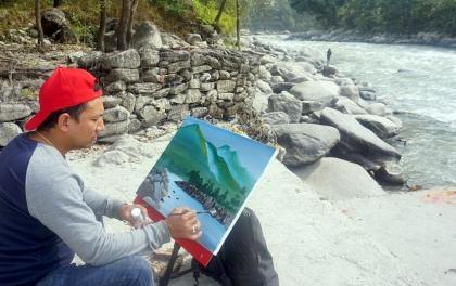 क्यान्भासमा उत्तरगया: मनमोहक फलाखु र त्रिशूली नदी