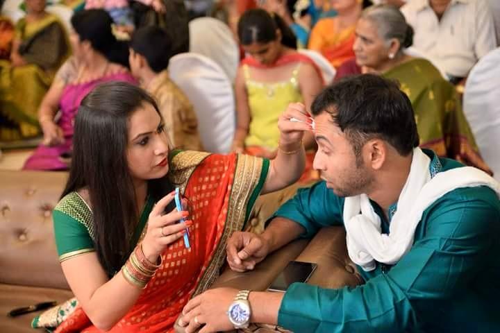 Nisha-Sarad Romance (5)