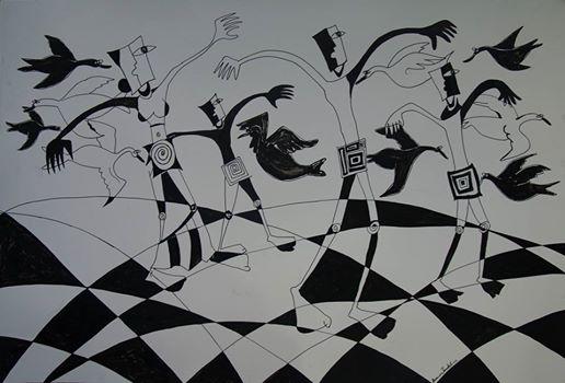 art by devendra thumkeli