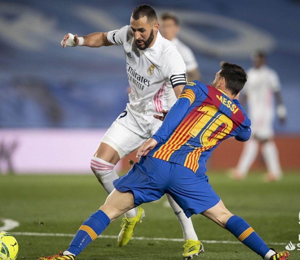 रियलसँग २–१ ले स्तब्ध बार्सिलोना तेस्रोमा झर्यो