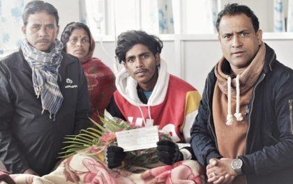 एनसेलको 'रिचार्जमा चमत्कार' योजनामा अस्पतालमा उपचारत कामतीले जिते १० लाख