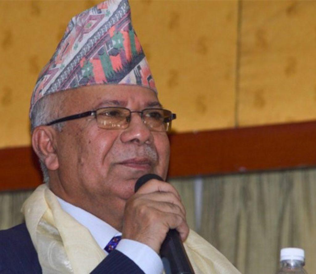 प्रचण्ड जस्तो इमान्दार नेता अरु कोही छैन : अध्यक्ष नेपाल