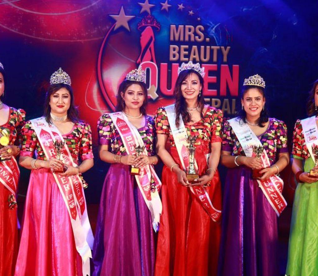 'लेट मी इन मिसेज ब्युटी क्विन नेपाल सिजन ४' की वजेता बनिन् रश्मी शाक्य