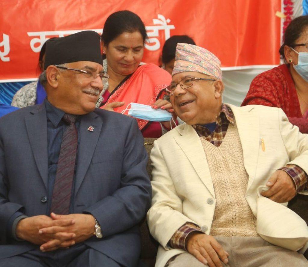 निर्वाचन आयोगको निर्णयबारे प्रचण्ड-नेपाल पक्षले विज्ञहरुसँग छलफल गर्ने