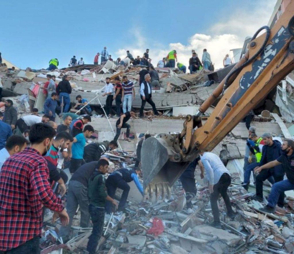 टर्कीमा भूकम्बाट मर्नेको संख्या २३ पुग्यो, ८ सय बढी घाइते