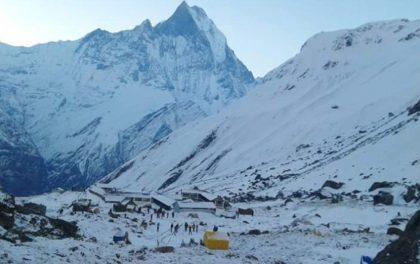 अन्नपूर्ण आधार शिविर घुम्न गएका चार कोरियाली र दुई नेपाली बेपत्ता
