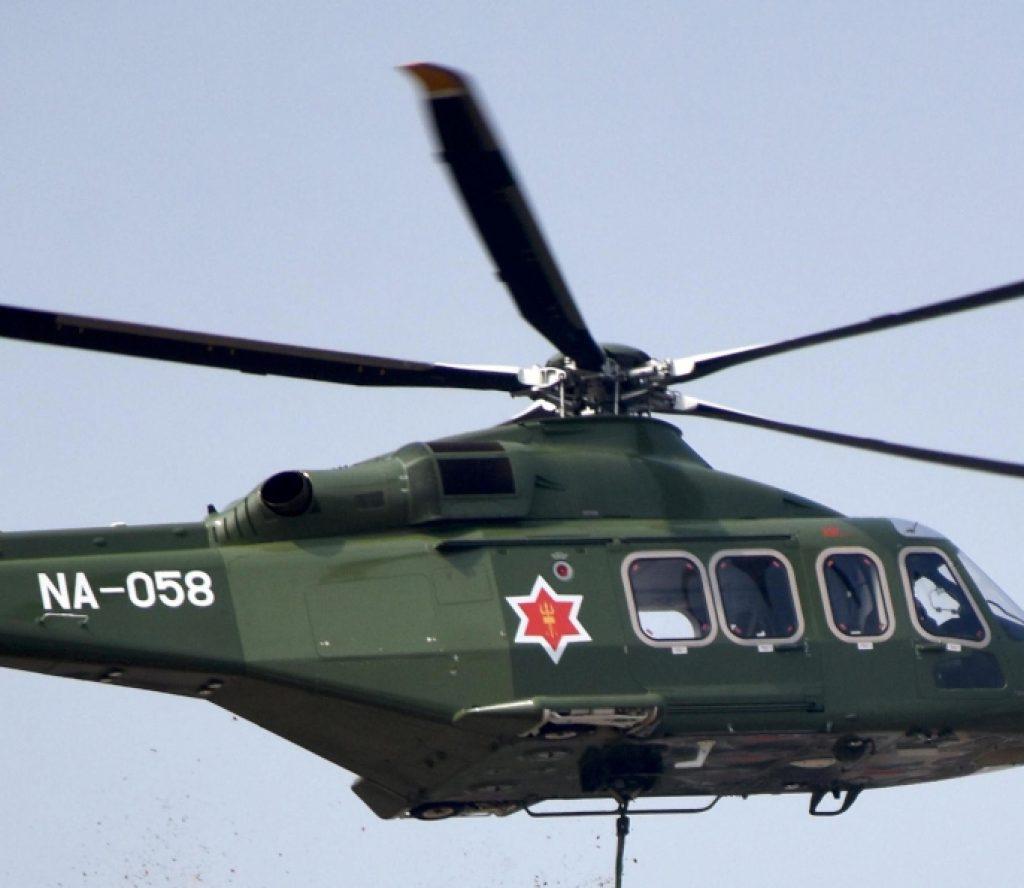 सेनाको हेलिकोप्टर लिएर कालापानी उडे रक्षामन्त्री पोखरेल