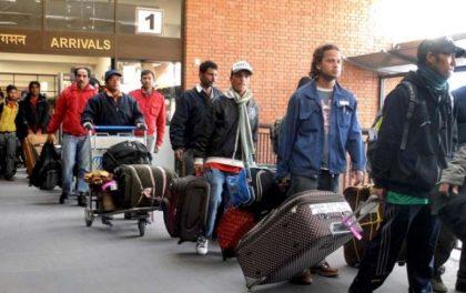 विदेशमा रहेका ६१ हजार नेपाली भित्रिए