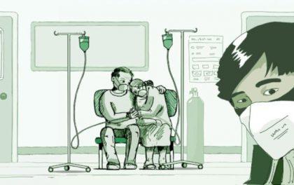 चीनमा कोरोनाभाइरस सङ्क्रमितले उपचार नपाएका आफन्त छटपटाएको त्यो दृश्य देख्दा…
