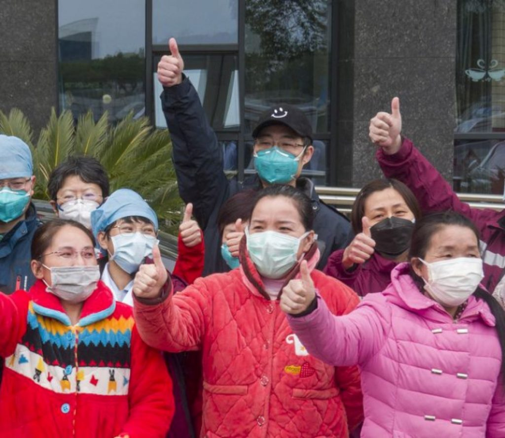 चीनमा कोरोनाभाइरसबाट नयाँ संक्रमित हुने भन्दा निको हुनेको सङ्ख्या बढी