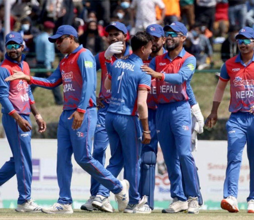 नेदरल्याण्डसँग ३ विकेटले पराजित नेपाल