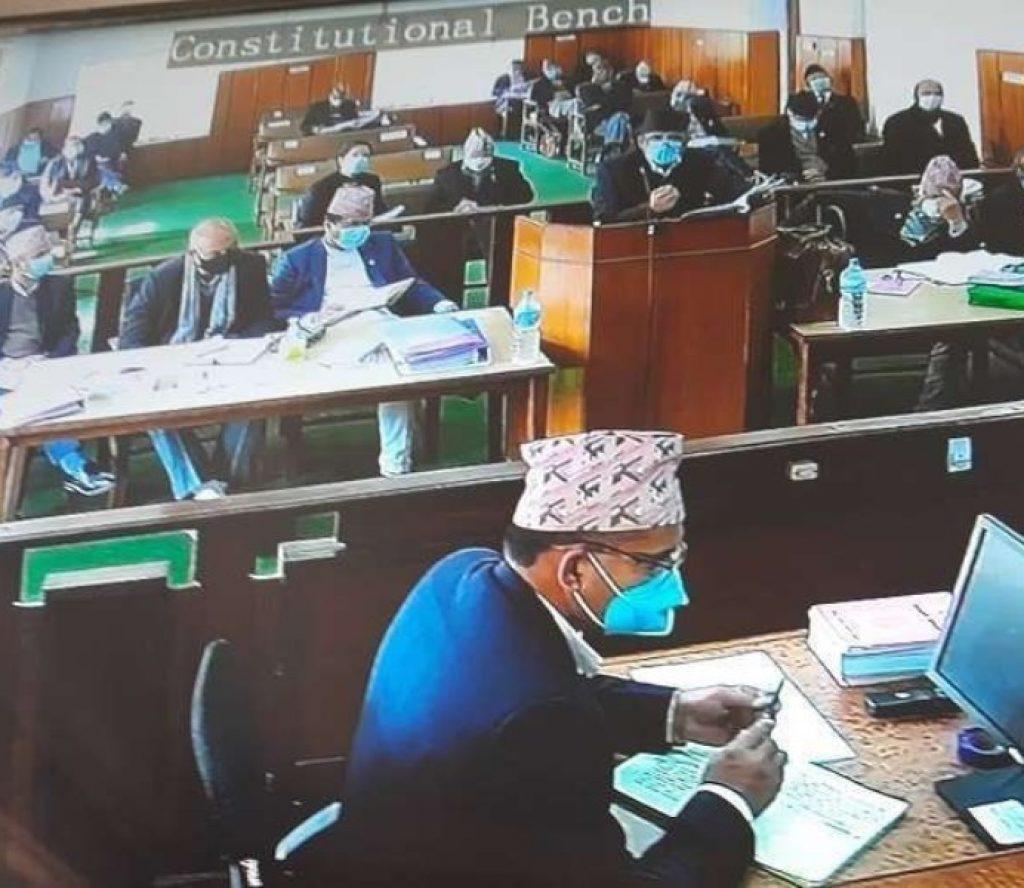 प्रतिनिधि सभा विघटनसम्बन्धी रिट : जोड 'धारा ७६ मा'