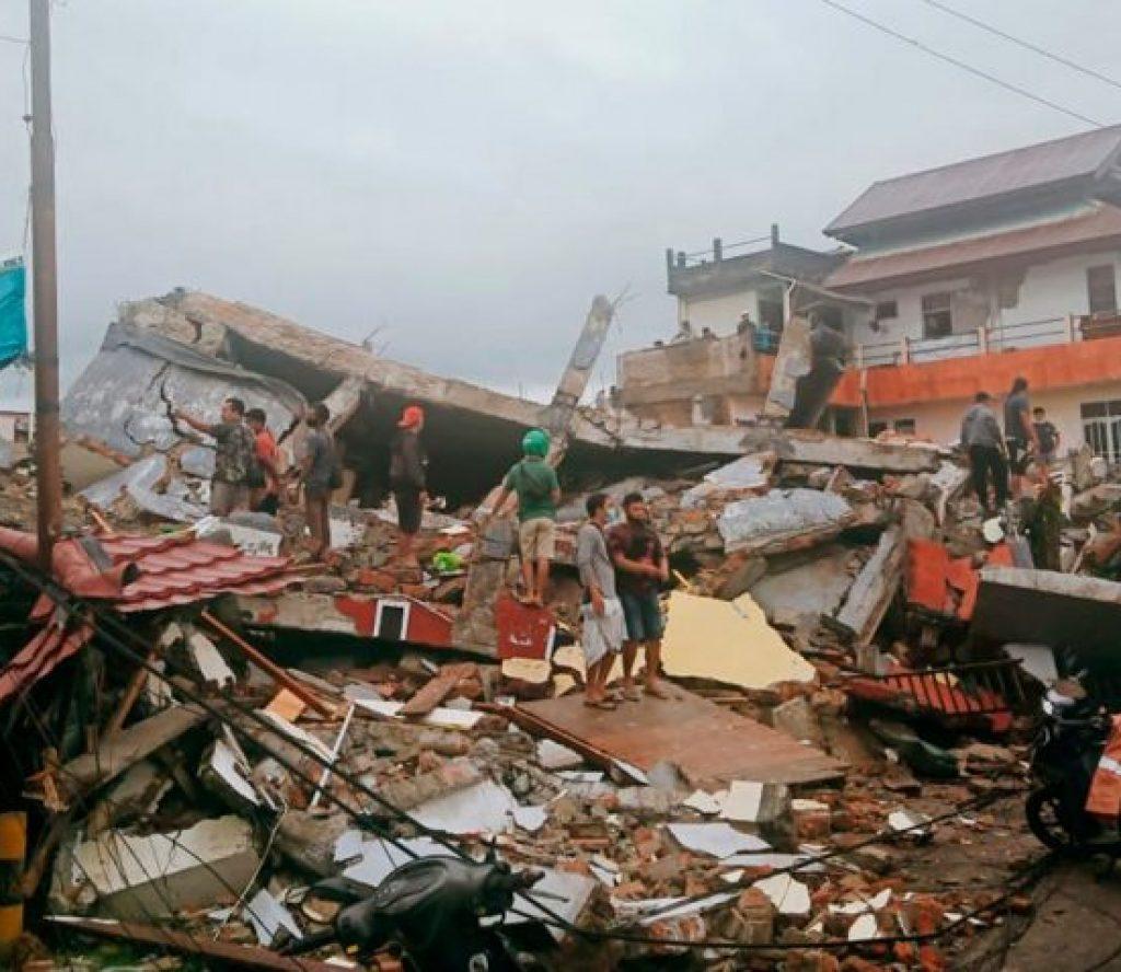 इन्डोनेसियामा शक्तिशाली भूकम्प, ३४ जनाकाे मृत्यु