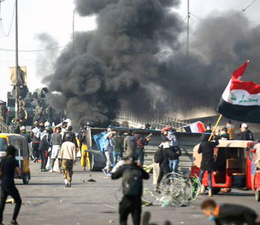अमेरिकी दूतावासमा फेरि रकेट आक्रमण, एक महिनामा तेस्रो हमला