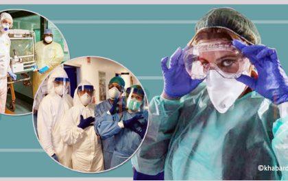 कोरोना संक्रमितको उपचार गर्ने इटलीका डाक्टरको दुःखेसो : ड्यूटीभर पानी पिउन पनि मुश्किल
