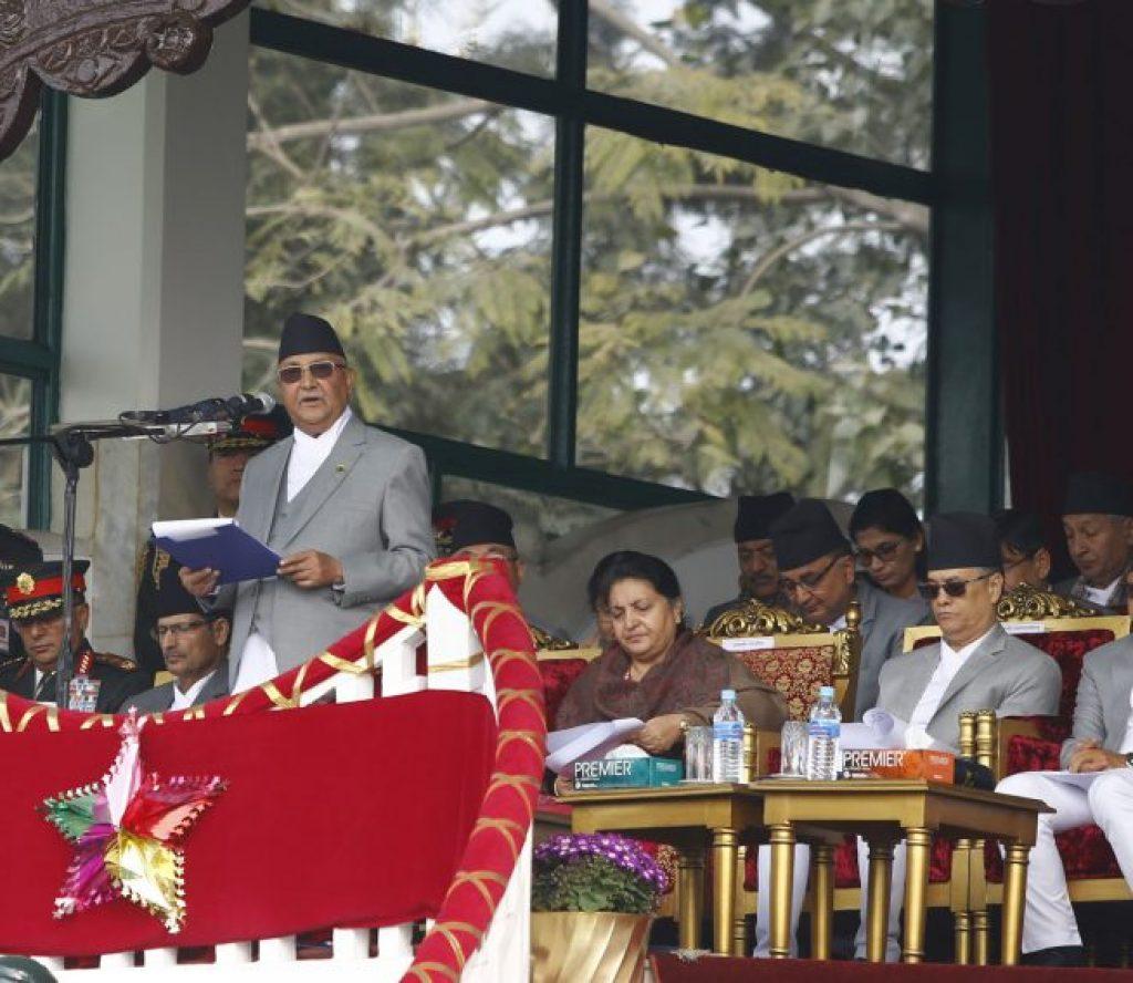 सरकारको विकासको यात्रामा अवरोधको प्रयास भयो : प्रधानमन्त्री ओली
