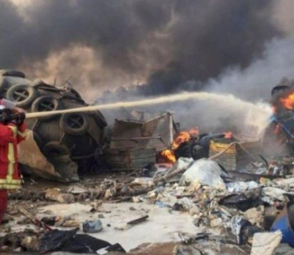लेबनानमा भएको विस्फोटमा परी एक सय भन्दा बढीको मृत्यु, चार हजार बढी घाइते