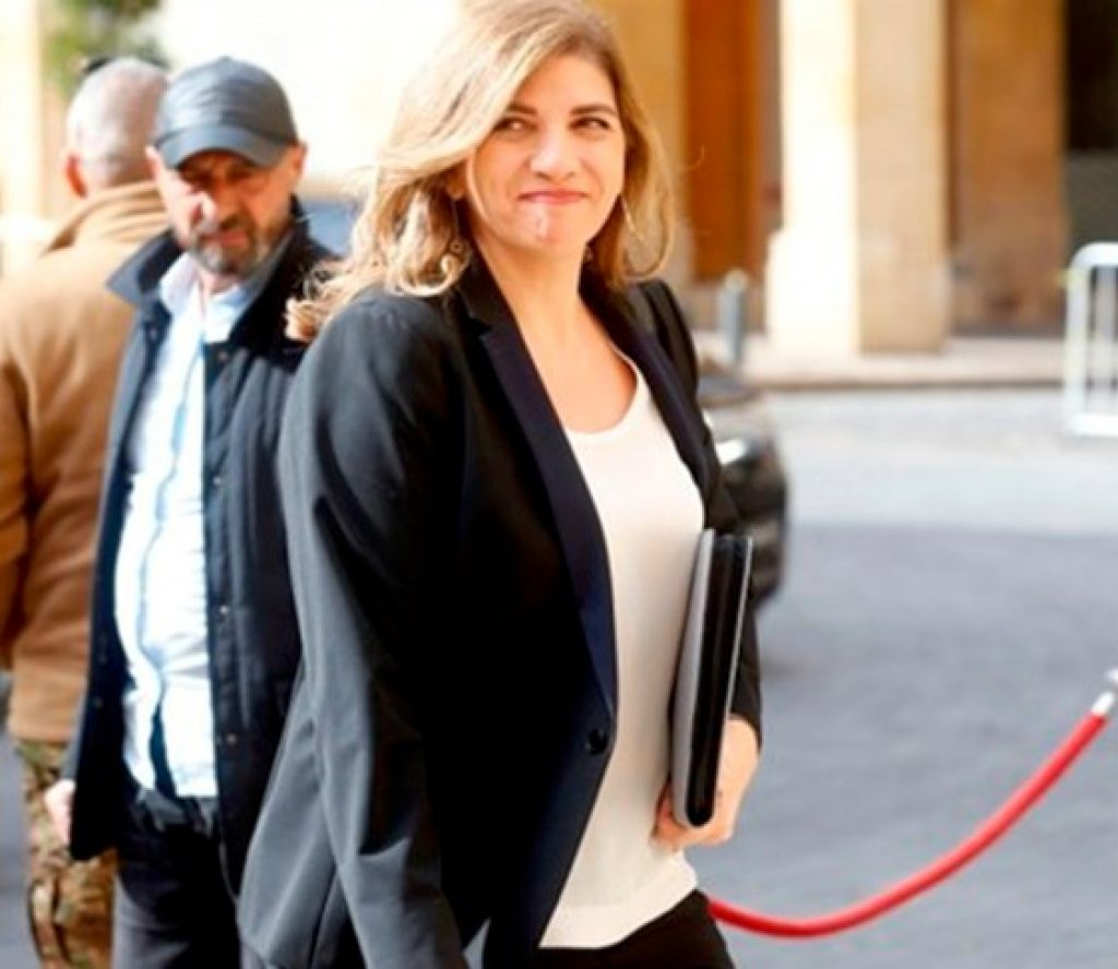 लेबनानकी कानुनमन्त्रीद्वारा राजीनामा